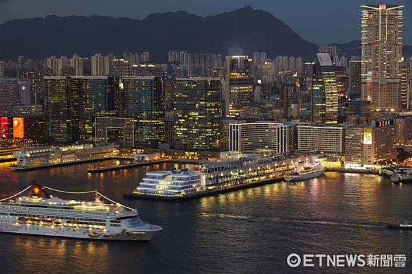▲海运观点,香港夜景,观景台。(图/海港城提供)