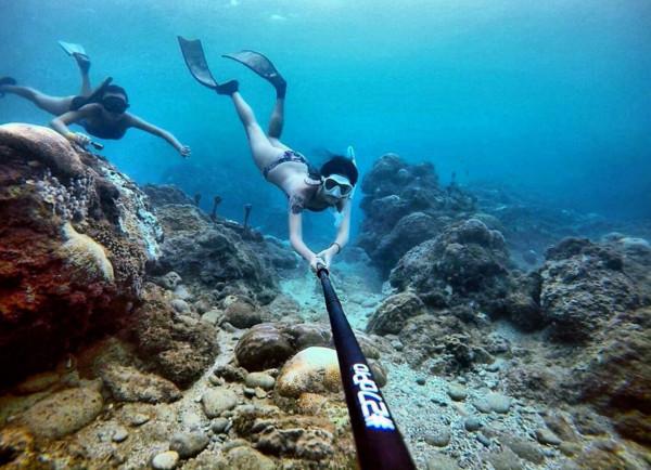 ▲潜水。(图/安安提供)