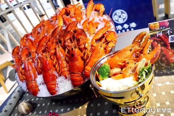 """香港香港吃到饱推""""龙虾锅""""。(图/用生命吃美食的艾莉丝奎恩花蕊七世提供)"""