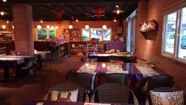 餐厅摆放出许多小巧可爱的装饰品,让内部充满童趣感,受到不少人喜爱