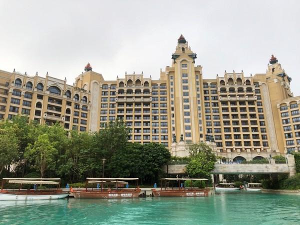 ▲珠海长隆海洋酒店。(图/记者陈涵茵摄)