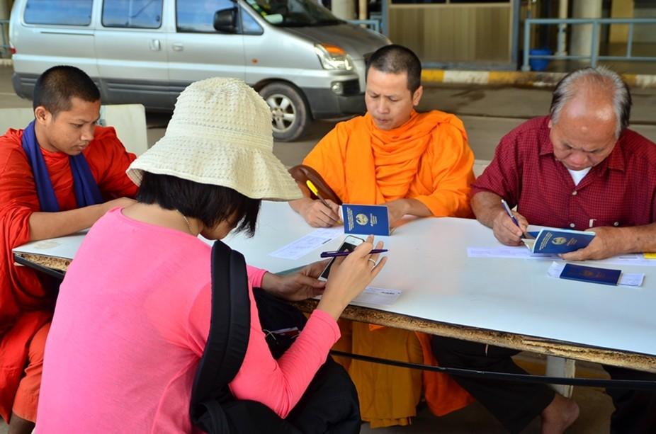 泰国老挝陆地入境(图/旅行说说话)