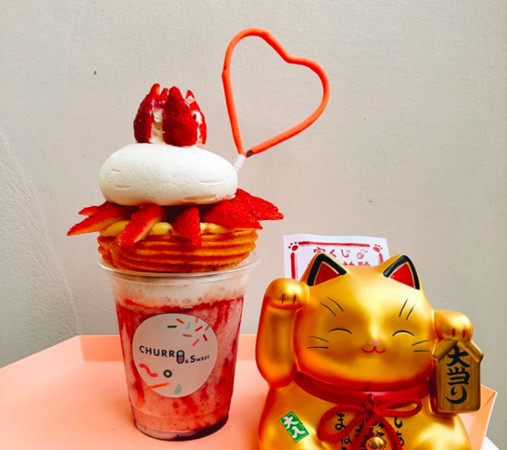 ▲仙女吉拿棒churro&sweet。(图/IG网友tw_eating提供,请勿随意翻拍,以免侵权。))